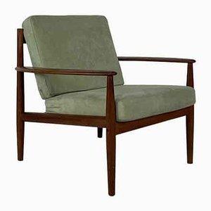 Mid-Century Teak Lounge Chair by Grete Jalk for France & Søn / France & Daverkosen, 1960s