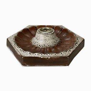Mid-Century Wandleuchte aus Keramik