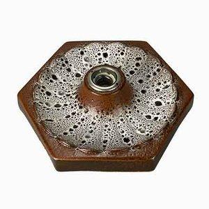 Mid-Century Ceramic Sconce