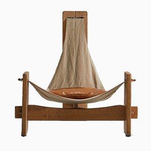 Sling Chair aus Eiche, 1960er