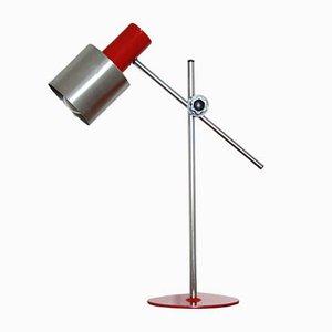 Lampada da tavolo rossa, anni '70