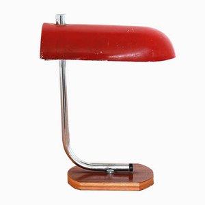 Lampe de Bureau Rouge, années 70