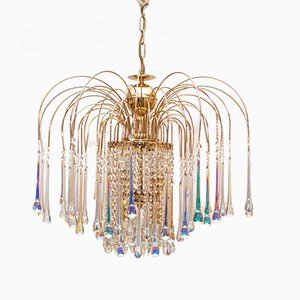 Mid-Century Murano Glass Chandelier by Paolo Venini, 1960s
