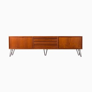 Teak Veneer Sideboard by Poul Cadovius for Cado, 1960s