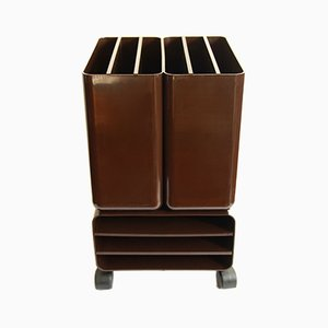 Vintage Italian Vinyl Storage by G.Coslin for UP Collezioni Longato, 1960s