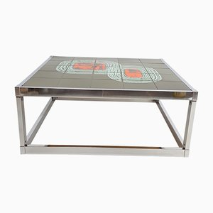 Ceramic Tile Coffee Table, 1960s
