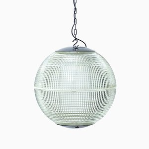 Kugelförmige Deckenlampe von Holophane, 1950er