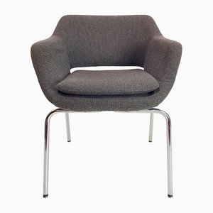 Italian Tubular Side Chair by Ico Luisa Parisi for M.I.M. Roma, 1960s