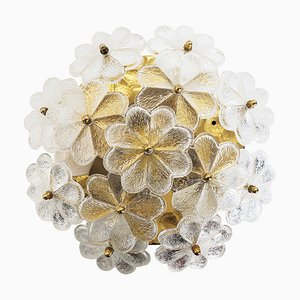 Floral Ceiling Lamp by Ernst Palme for Palwa, 1960s