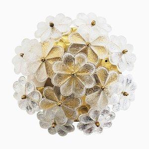 Florale Deckenlampe von Ernst Palme für Palwa, 1960er