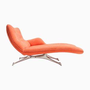 Chaise longue de Vladimir Kagan para Kagan Design, años 90