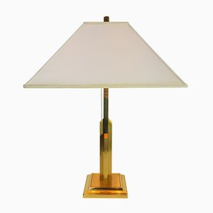 Vintage Brass Table Lamp by Willy Rizzo, 1970s