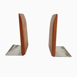 Vintage Danish Teak Bookends, 1960s, Set of 2