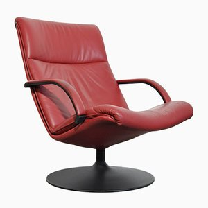 Model F196 Swivel Armchair by Geoffrey Harcourt for Artifort, 1980s