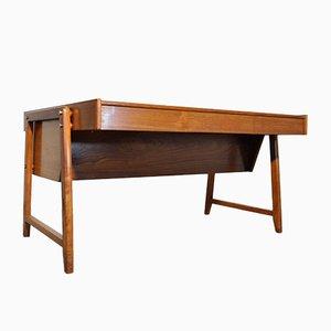 Escritorio vintage de madera de Clausen & Maerus para Eden Rotterdam, años 60