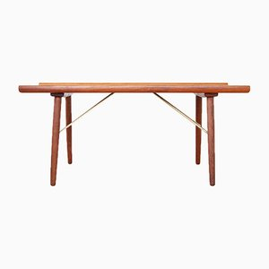Mid-Century Danish Teak and Oak Coffee Table