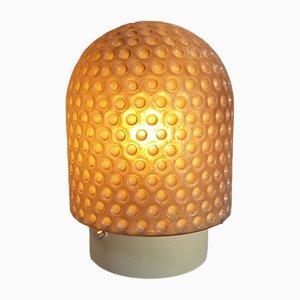 Lampada da soffitto vintage in metallo e vetro di Peill & Putzler, anni '60