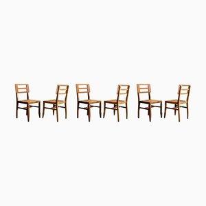 Chaises de Salle à Manger Mid-Century, Set de 6