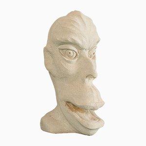 Sculpture Vintage en Pierre par Dominic Hurley, Royaume-Uni