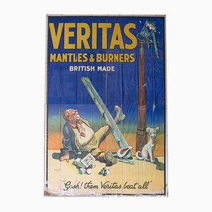 Großes Vintage Werbeplakat von John Hassall für Veritas, 1920er