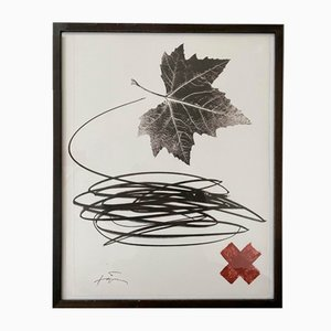 Maple Leaf Lithograph by Tapies Antoni, 1983