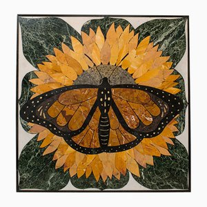 Vintage English Monarch Butterfly Decorative Relief by Dominic Hurley