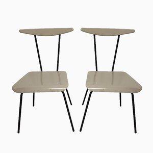 Beistellstühle von Wim Rietveld für Auping, 1950er, 2er Set