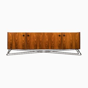 Rosewood and Walnut Sideboard, 1960s