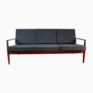 Scandinavian Teak Sofa by Grete Jalk for France & Søn / France & Daverkosen, 1960s