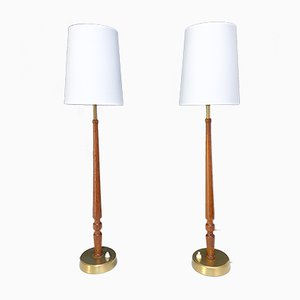 Table Lamps by Hans Bergström for Ateljé Lyktan, 1950s, Set of 2