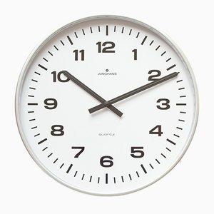 Grande Horloge Murale Industrielle de Junghans, années 80