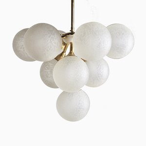Mid-Century French Chandelier, 1950s