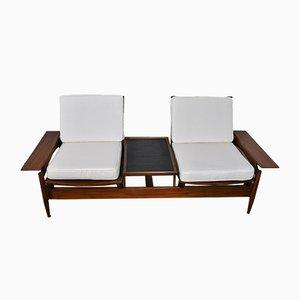 Modulares italienisches Mid-Century Sofa, 1950er