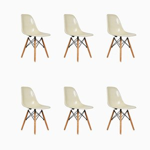 Chaises d'Appoint Vintage par Charles & Ray Eames pour Herman Miller, Set de 6