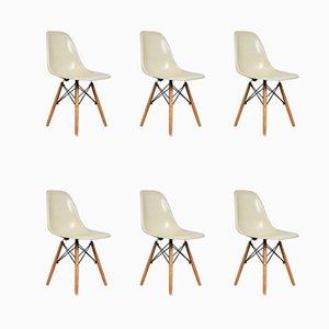 Vintage Beistellstühle von Charles & Ray Eames für Herman Miller, 6er Set