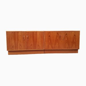 Teak Cabinets from G-Plan, 1970s, Set of 2