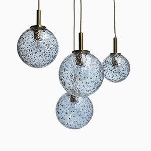 Globe Pendant Lamps from Doria Leuchten, 1960s, Set of 4