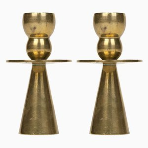 Danish Candle Holders from Kara, 1960s, Set of 2