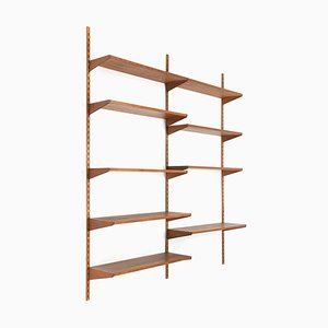 Danish Teak Modular Shelves by Kai Kristiansen for Feldballes Møbelfabrik, 1960s
