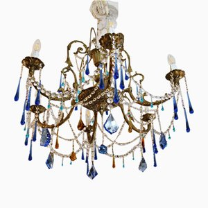 Crystal Chandelier, 1970s