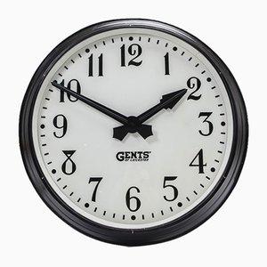 Reloj de fábrica grande de Gents of Leicester, años 30