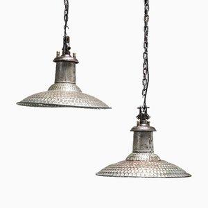Lampe à Suspension en Cuivre de Revo, années 30