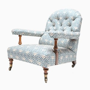 Antique Armchair by Howard and Sons for Howard and Sons