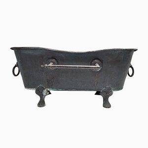 Antique Copper Roll Top Bath