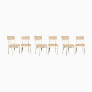 Chaises de Salle à Manger Anciennes Gustaviennes, Set de 6