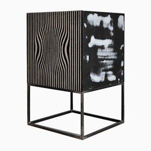 Mobiler Schrank mit Muster von Edo Vincent und Atelier Borella