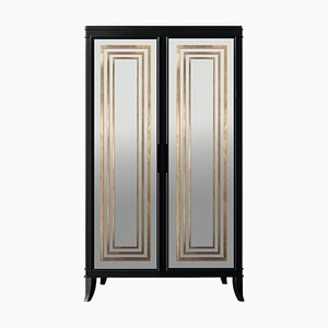 Mirrored Olimpia D45 Armoire by Isabella Costantini