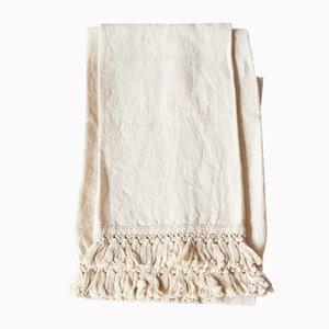 Handtücher aus Leinen mit kurzen Fransen von Once Milano, 2er Set