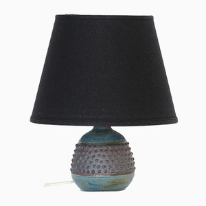 Small Green, Blue, and Brown Table Lamp by Rolf Palm, 1960s