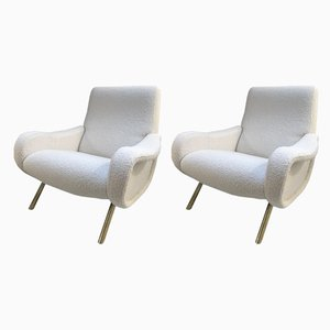Lady Lounge Chairs by Marco Zanuso, 1950s, Set of 2